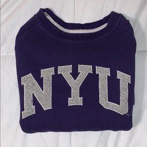 Tops - vintage NYU sweatshirt